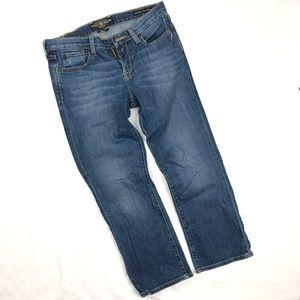 LUCKY BRAND Size 6/28 Cecil Sweet n Low Crop Jeans